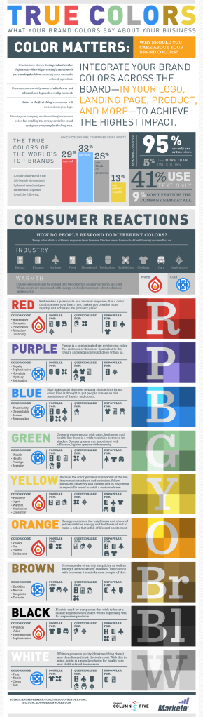 True Colour Infographic